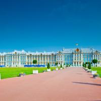St Petersburg Amber room, Tsarskoye Selo