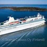 Ferry cruiser to St. Petersburg