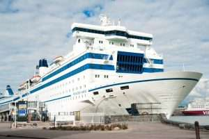 M/S Princess Anastassia docked in Helsinki
