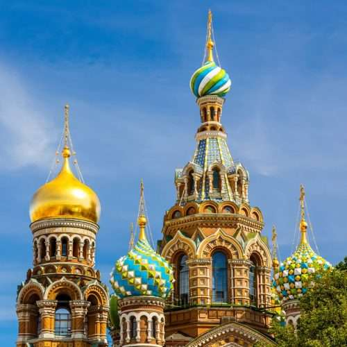 Visit the Church on the Spilled Blood