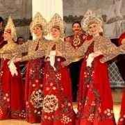 Folkshow in Nicolas Palace St Petersburg