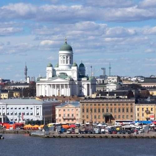 Helsinki embankment
