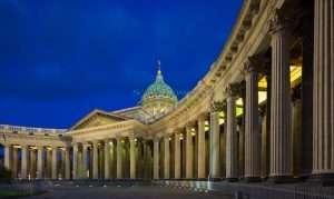Visa free tours to St Petersburg Kazan Cathedral