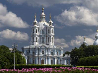Visit Smolny Cathedral