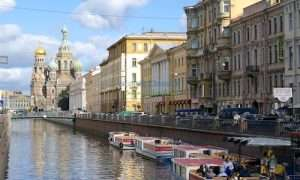 Canals of St Petersburg