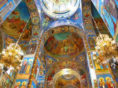 Cathedrals of St Petersburg visa free tour