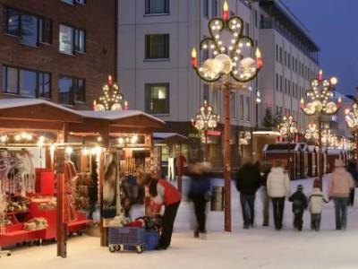 Visit Rovaniemi in winter