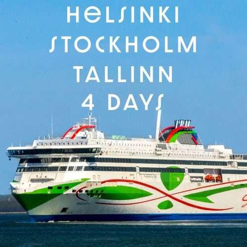Helsinki to Tallinn cruise