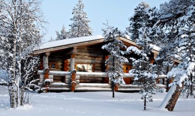 Finnish traditional cottage