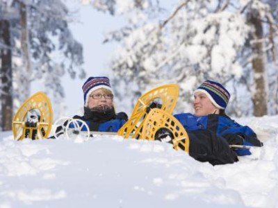 Try all winter activities in Lapland