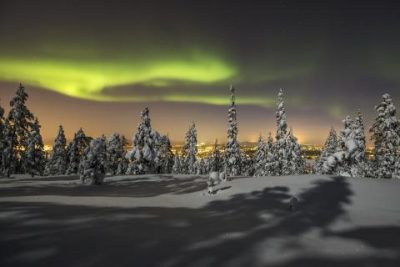 See the Northern light in Rovaniemi