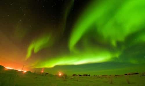 northern lights tours in Lapland
