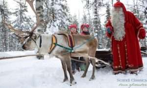 Visit Rovaniemi Lapland to meet Santa Claus
