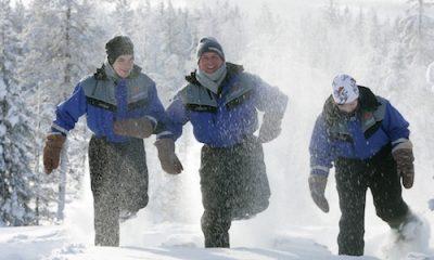 Winter activities in Finland