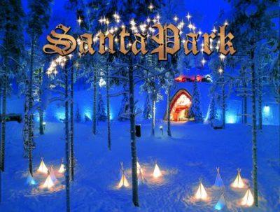 Visit Santa park in Rovaniemi