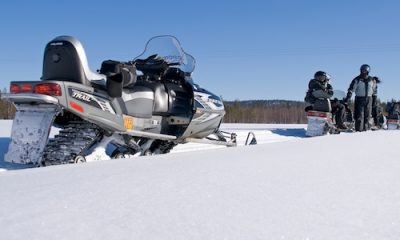 Snowmobile safari in Iso-Syote