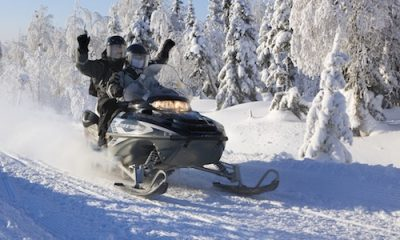 Snowmobile safari in Iso-Syöte