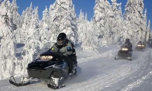 Winter adventures in Iso-Syöte