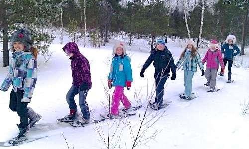 Snowshoe Hiking Finland Trip