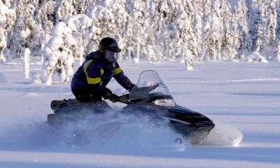 Snowmobile Lapland