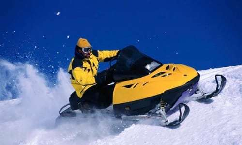 Lapland snowmobile adventure