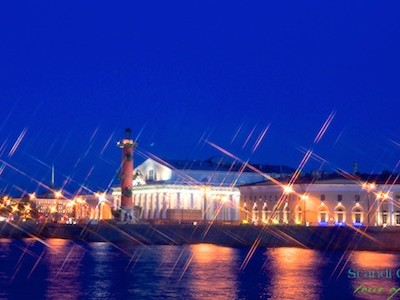 St. Petersburg by night