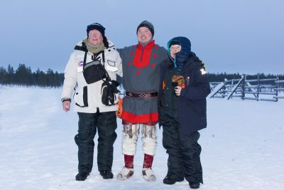 Meeting with the local Saami people