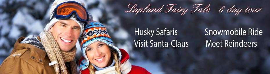 Go Winter Lapland tour and meet Santa