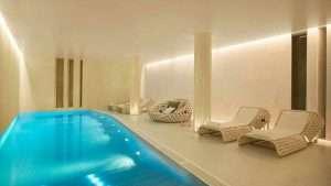 Swimming pool in W hotel St. Petersburg