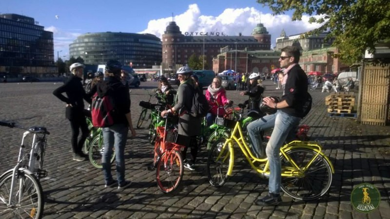 Bike tour of Helsinki
