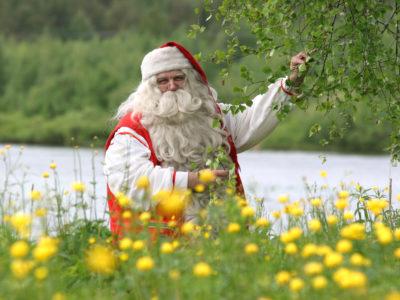 Santa Claus in Rovaniemi