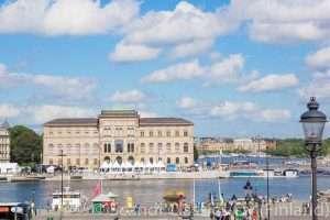 City tour of Stockholm
