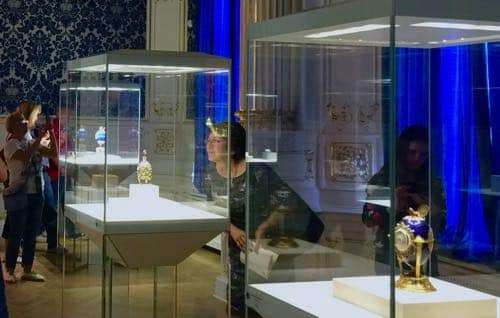 Museum of Karl Faberge in St. Petersburg