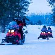 Explore snowmobile safari in Kemi