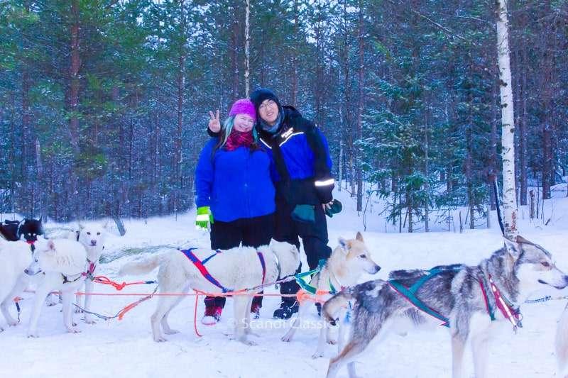 Activities in Saariselka