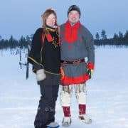 Saariselka tour to search northern lights
