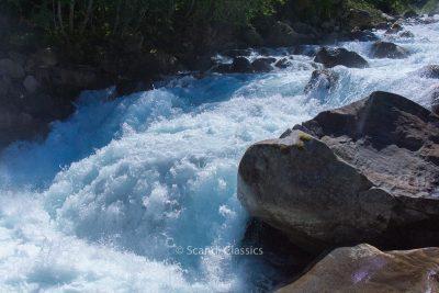 Waterfall in Nærøyfjord
