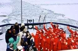 Onboard the Icebreaker